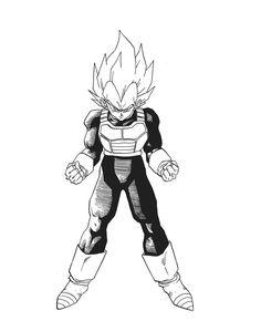 Dragon Ball Z Son Goku And Vegeta Super Saiyan Four