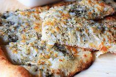 Mostly Homemade Mom: Cheesy Herb Pizza Sticks