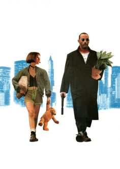 """Leon: The Professional"" starring Jean Reno, Gary Oldman, Natalie Portman, Danny Aiello, Michael Badalucco; written and directed by Luc Besson. Jean Reno, Gary Oldman, Great Films, Good Movies, Film Movie, The Professional Movie, Leon The Professional Mathilda, Professional Poster, Mathilda Lando"