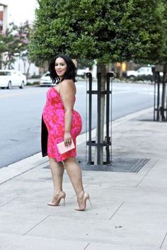 Plus Size Outfit Idea | Plus Size Fashion | Plus Size Wedding Guest Attire