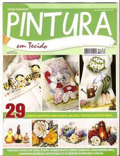 Pintura em Tecido ano 01 nº 10 - ADRIANA MOURA - Álbuns da web do Picasa