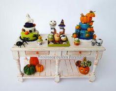 Mini Escenas, Miniaturas by Eva Perendreu: Talleres y mini Halloween - Workshop and Mini Halloween