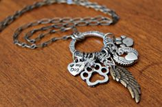 Dog Angel Necklace Dog Keepsake Dog Jewelry by KathrynsCollection