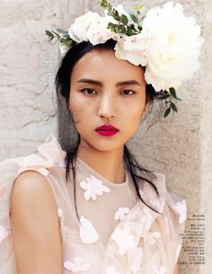 asianfemalemodel:  Luping Wang by Stockton Johnson for Vogue China Aug 2015