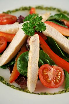 Salads With Low Carbs & High Protein | LIVESTRONG.COM