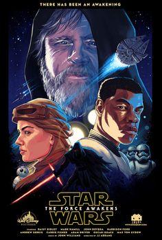 Star Wars The Force Awakens poster concept fan art