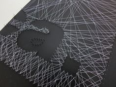projekt nagel faden on pinterest string art string art tutorials and magazine spreads. Black Bedroom Furniture Sets. Home Design Ideas
