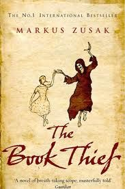 The Book Thief - Markus Zusak.    I was recommended to read this and at first I didn't think it would be my cup of tea. How wrong I was. If you're going to read it make sure you have tissues at the ready. A beautifully captivating tale