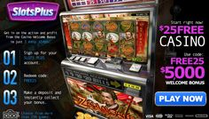 Five reasons to try Slots Plus casino. Casino has been online since 2002 and earned the reputation of a trusted online casino. Free Slots Casino, Online Casino Slots, Best Online Casino, Online Casino Games, Online Casino Bonus, Best Casino, Slot Online, Las Vegas Usa, Vegas Casino
