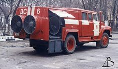 17 автомобиль дымоудаления на ЗИЛ-130