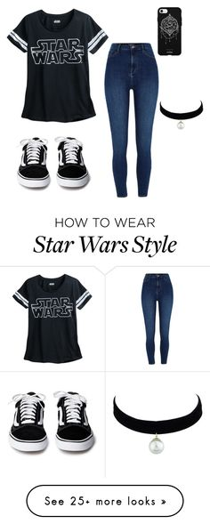 """Star Wars"" by masterzodiac on Polyvore featuring River Island and Fifth & Ninth"