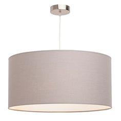 Lámpara de techo 3 luces Nicole gris Inspire