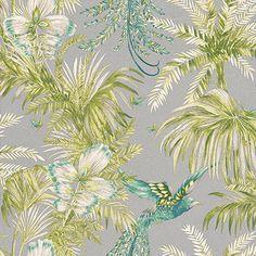 Bird of Paradise Jade/Kiwi wallpaper by Matthew Williamson