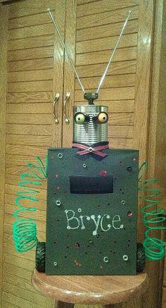 Robot valentine box :)