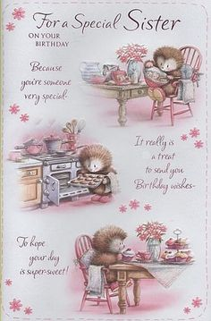Birthday Quotes : Birthday Cards, Female Relation Birthday Cards, Sister, For A Special Sister On Your Birthday, Birthday Greetings For Sister, Happy Birthday Video, Happy Birthday Wishes Cards, Birthday Blessings, Happy Birthday Pictures, Birthday Wishes Quotes, Happy Birthdays, Sister Birthday Quotes, Happy Birthday Sister