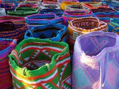 Handmade bags. Wayuu. La Guajira, Colombia. Visit our website: http://www.going2colombia.com/
