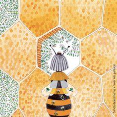 Beijos de Algodão: A Abelha e a Flor #1