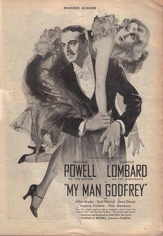 My Man Godfrey!  William Powell & Carole Lombard