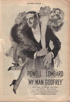My Man Godfrey!  William Powell & Carole Lombard