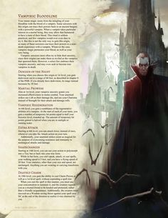 Vampiric Bloodline Sorcerer by Jonoman3000