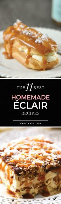 Eclair dessert recipes