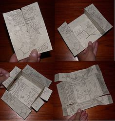 """The Marauder's Map according to the Harry Potter wiki is: """"A magical document that reveals all of Hogwarts School of Witchcraft and Wiza. Objet Harry Potter, Magia Harry Potter, Classe Harry Potter, Cumpleaños Harry Potter, Harry Potter Marauders Map, Mundo Harry Potter, The Marauders, Harry Potter Christmas Decorations, Harry Potter Christmas Tree"""
