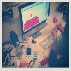 Designer at work  #lutherdsgn