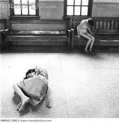 Female patients in Ohio Insane Asylum.