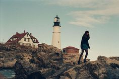 at the lighthouse // by the bay // winter getaways