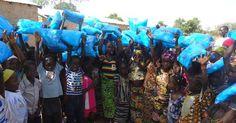 Protégeons des enfants et leurs familles contre le paludisme avec Un Enfant par la Main !