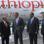 President Obama visits Ethiopian Airlines CEO