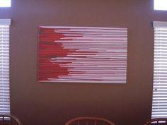 DIY Canvas Wall Art: A Grownup Art Project | The Stir
