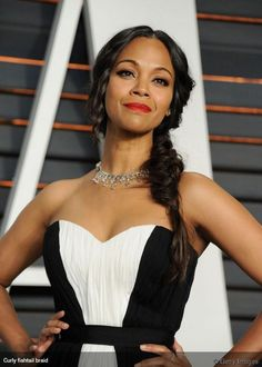 If you love braided hairstyles, this fishtail side braid is the prom look for you.