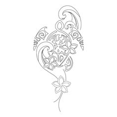 plumeria flower tattoo - Google Search