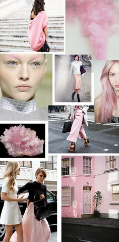 Pink, fashion, pastel, mood board, inspiration!