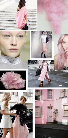 Pink, fashion, pastel, mood board, inspiration!