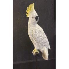 White Cockatoo Sculpture