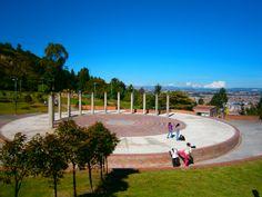 Recordando a los ancestros Muiscas, en el Aula Ambiental Mirador de Los Nevados de #Bogotá