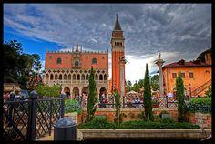 EPCOT Center - Italy #epcot #disney #imagineering