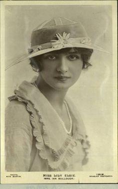 LA IMAGEN DEL SIGLO.: Divas de la Belle époque. LILY ELSIE II