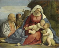 A58   Benedetto Diana   Virgin, Child and Saints   1515   Painting   Oil on panel 69 x 85.5 cm   Rijksmuseum   Amsterdam, Netherlands   SK-A-3014