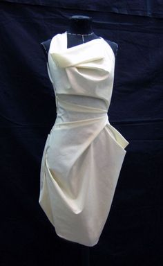 Evening Dresses 2017 New Design A-line White And Black V-Neck Sleeveless Backless Tea-length Sashes Party Eveing Dress Prom Dresses 2017 High Quality Dress Fuchsi China Dress Up Plain Dres Cheap Dresses Georgette Online Fashion Details, Diy Fashion, Womens Fashion, Origami Fashion, Moda Peru, Draping Techniques, Pattern Draping, Creation Couture, Draped Dress