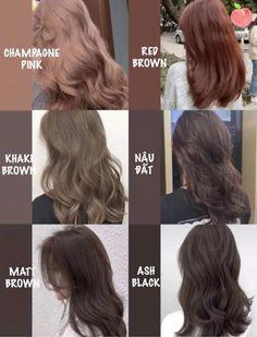 Hair Color Streaks, Hair Dye Colors, Hair Highlights, Medium Hair Styles, Curly Hair Styles, Aesthetic Hair, Hair Looks, Pretty Hairstyles, Dyed Hair