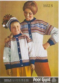 Granåsen 1032 S Norwegian Knitting, Knitting Patterns, Sweater Patterns, Fair Isle Knitting, Sweater Design, Vintage Knitting, Childhood Memories, Christmas Sweaters, Scandinavian