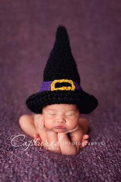 Hocus Pocus Witch Hat Newborn