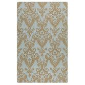 Found it at Wayfair - Toulouse Blue Gray Damask Area Rug. Really like this. A bit pricey