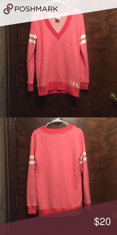 Pink XS Shirt Never worn. New without tags. PINK Victoria's Secret Tops Tunics
