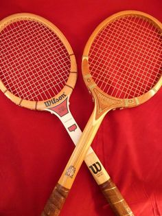 Set of 2 Nice Vintage Tennis Rackets 1- Wilson Stan Smith & 1- Imperial TAD #TAD