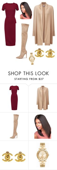 """""""Fundraiser"""" by livelovelearn-ne on Polyvore featuring Iris & Ink, Pure Collection, Kendall + Kylie, Chanel and Michael Kors"""