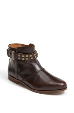 Earthies® 'Treano' Bootie available at #Nordstrom Loving the brown.
